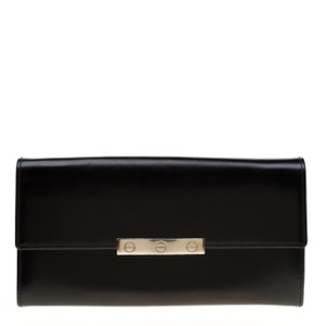 Cartier Black Leather Love Continental Wallet