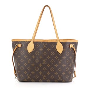 Louis Vuitton Canvas Tote in brown