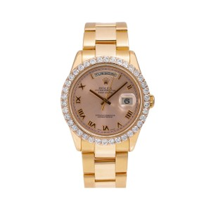 Rolex Rolex Day-Date 118205 36MM Pink Dial With 3.50 CT Diamonds
