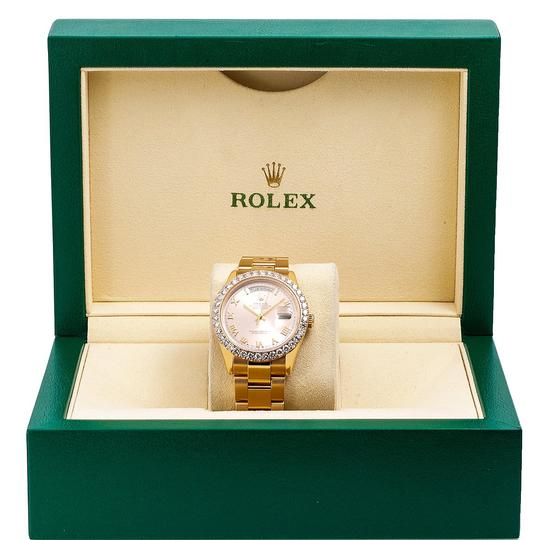 Rolex Rolex Day-Date 118205 36MM Pink Dial With 3.50 CT Diamonds Image 5