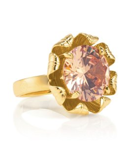 Tory Burch NEW Leah Ring, Size 6