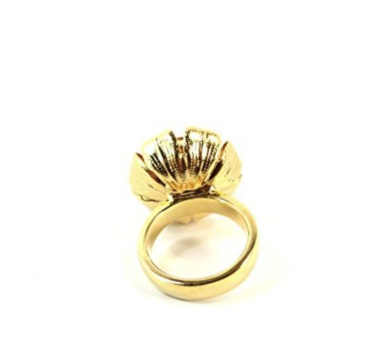 Tory Burch NEW Leah Ring, Size 6 Image 1
