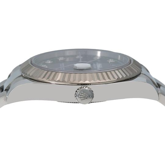 Rolex Rolex Datejust II 116334 41MM Gray Diamond Dial With Stainless Steel Image 3