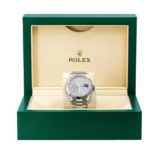 Rolex Rolex Datejust II 116334 41MM Gray Diamond Dial With Stainless Steel Image 5
