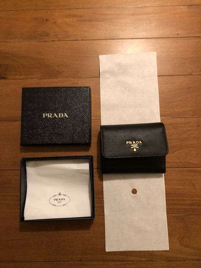 Prada Brand New - Prada Small Leather Wallet Image 4