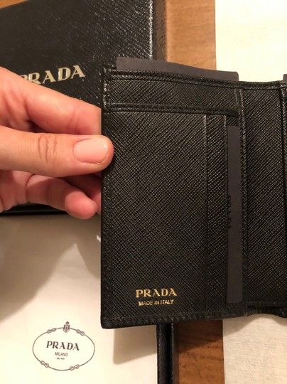 Prada Brand New - Prada Small Leather Wallet Image 5