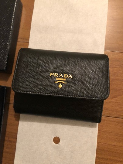 Prada Brand New - Prada Small Leather Wallet Image 8