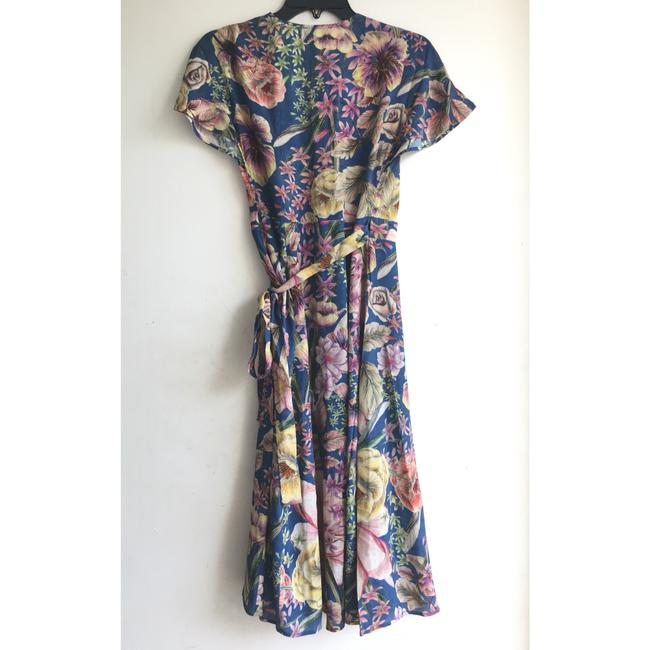 Anthropologie short dress Blue Floral on Tradesy Image 5