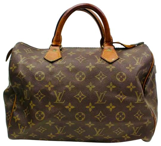 Preload https://img-static.tradesy.com/item/25367286/louis-vuitton-speedy-w-30-monogram-canvas-wlock-and-key-brown-leather-satchel-0-1-540-540.jpg