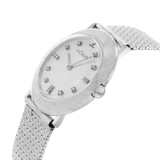 Jaeger-LeCoultre 33mm 14K White Gold Diamonds Hand Wind Ladies Watch Image 1