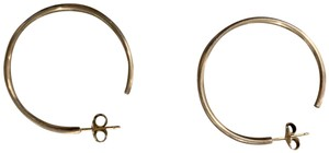 Tiffany & Co. Tiffany sterling silver hoops