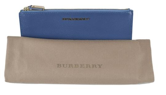 Burberry NEW Burberry Patent Leather CONSTANTINE Continental Wallet W/Zip Image 4