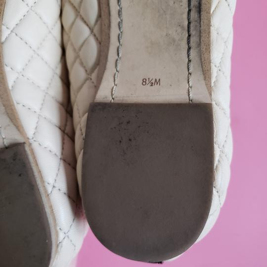 Sam Edelman Cream Black Flats Image 6