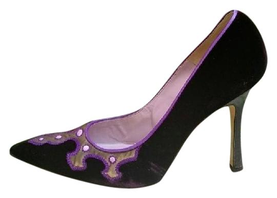Preload https://img-static.tradesy.com/item/25367795/manolo-blahnik-purple-pumps-size-eu-38-approx-us-8-regular-m-b-0-3-540-540.jpg