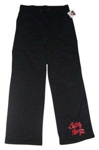Betty Boop Athletic Pants BLACK