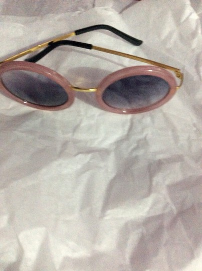 Nordstrom pink round nw sunglassses Image 1