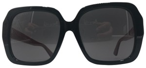 Gucci Square Frame Red Temple GG0096SA 004 55-18-145 Made in Italy Unisex