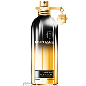 MONTALE BLACK AOUD INTENSE MONTALE-UNISEX-EDP-3.3 OZ-100ML-TESTER-FRANCE