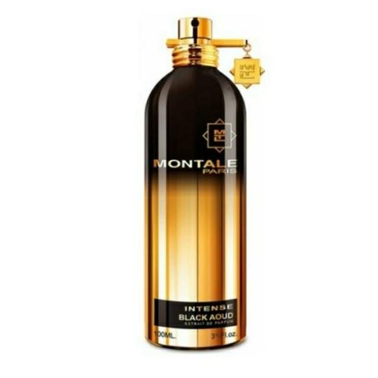 MONTALE BLACK AOUD INTENSE MONTALE-UNISEX-EDP-3.3 OZ-100ML-TESTER-FRANCE Image 2