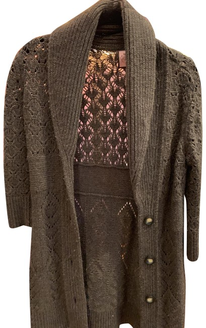 Preload https://img-static.tradesy.com/item/25368062/juicy-couture-brown-ponchocape-size-8-m-0-1-650-650.jpg