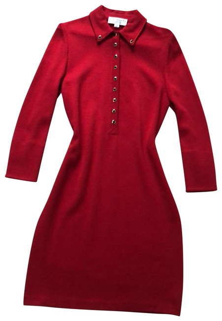 Preload https://img-static.tradesy.com/item/25368223/st-john-red-115s04-mid-length-workoffice-dress-size-2-xs-0-1-650-650.jpg