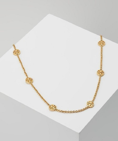 Tory Burch Tory Burch Gold Delicate Logo Necklace Image 2
