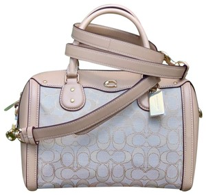 Coach Satchel in Light Khaki / Beechwood