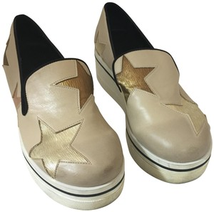 Stella McCartney Binx Loafers Vegan BEIGE Platforms