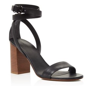 Vince black Wedges