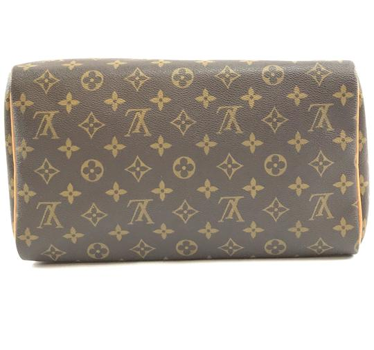Louis Vuitton Lv Canvas Speedy 30 Satchel in Monogram Image 4