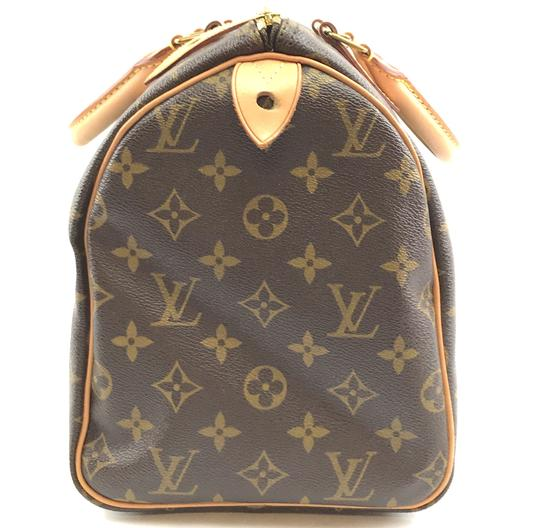 Louis Vuitton Lv Canvas Speedy 30 Satchel in Monogram Image 7