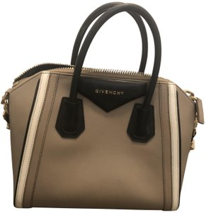 Givenchy Tote in Tan black and white