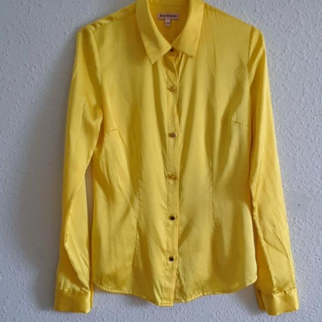 Juicy Couture Top Yellow Image 1