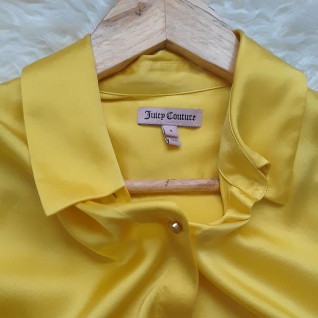 Juicy Couture Top Yellow Image 6