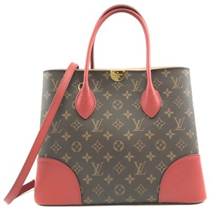 Louis Vuitton Lv Canvas Monogram Flanderin Shoulder Bag