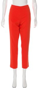 Tory Burch Summer Spring Capri/Cropped Pants Poppy Red