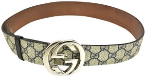 """Gucci Leather & """"GG"""" Logo - fits 29"""" to 33"""" (nx)"""