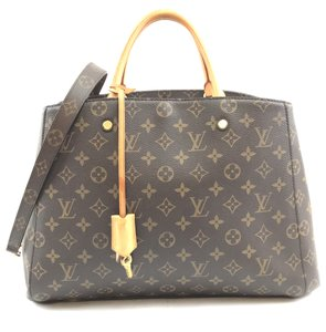 Louis Vuitton Monogram Canvas Montaigne Shoulder Bag
