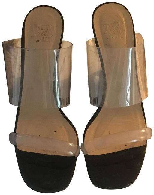 Item - Black Olympia Mules Wedges Size US 6.5 Regular (M, B)