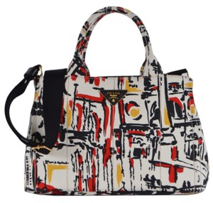 6577b5190d50ec Prada Handbag Canapa Wallet Purse Tote in Multicolor