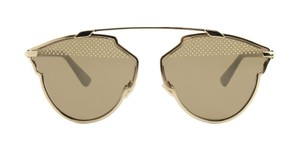 Dior NEW Dior So Real Studded Gold Sunglasses