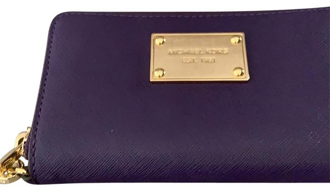 Item - Purple with Gold Hardware Very New Worn Twice. Clutch Small Wallet