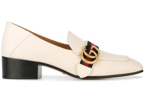 Gucci Princetown Loafer Slide Flat white Mules