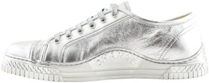 Chanel Trainer Sneaker Runway Flat silver Athletic