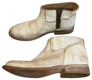 Matisse white/tan Boots