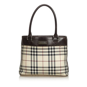 Burberry 9abuto003 Vintage Tote in Brown