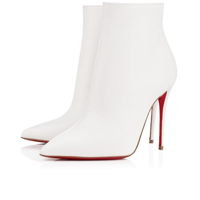 Item - White So Kate 100 Calf Leather Snow Boots/Booties Size EU 37 (Approx. US 7) Regular (M, B)