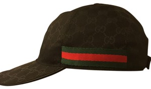 3540641ff385f Gucci Original GG Canvas Baseball Hat with Web Size M