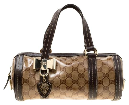 Preload https://img-static.tradesy.com/item/25372253/gucci-boston-beigebrown-gg-crystal-and-leather-small-duchessa-beige-coated-canvas-satchel-0-1-540-540.jpg