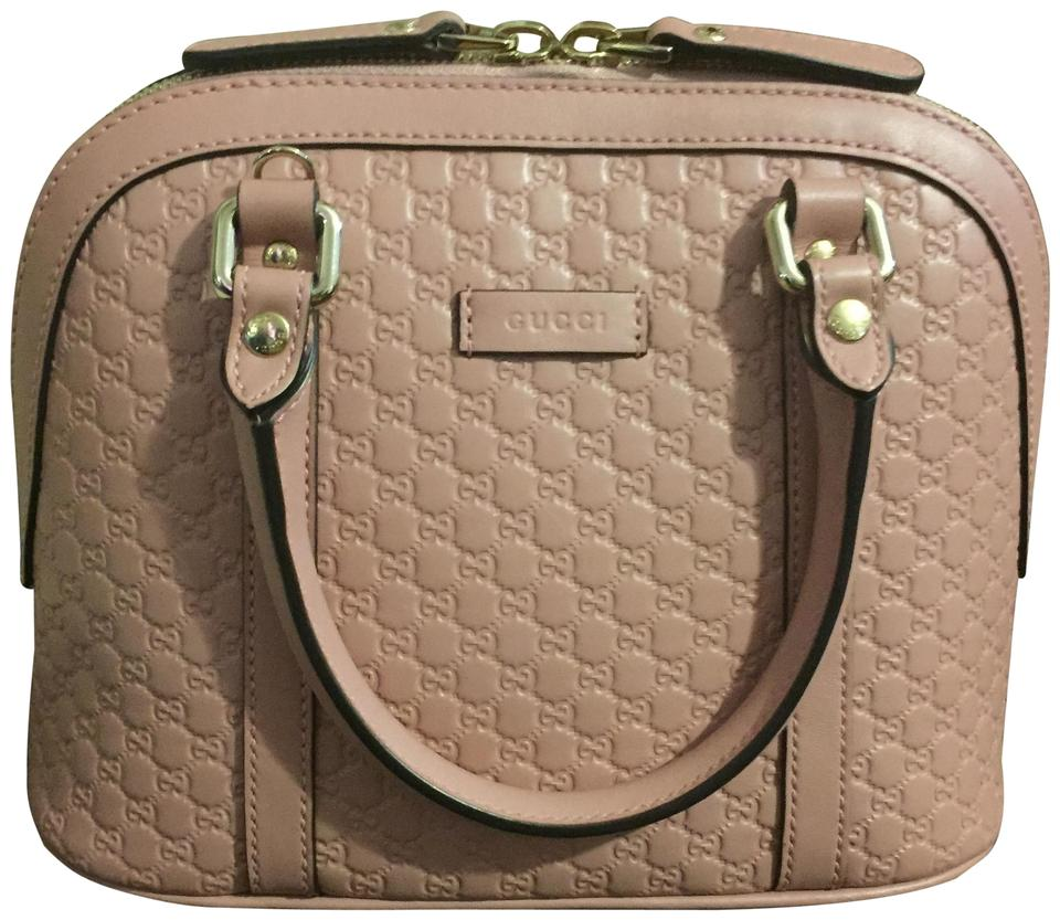 715187342bf0 Gucci Microguccissima Soft/ Margaux Soft Pink Leather Cross Body Bag ...